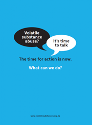 Volatile substance abuse? It's time to talk