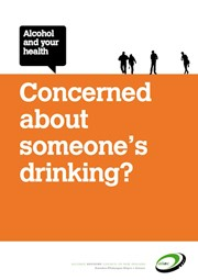 Alcohol and your health: Concerned about someone's drinking?