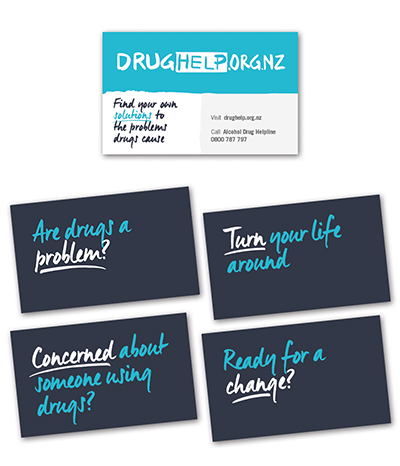 DrugHelp wallet cards