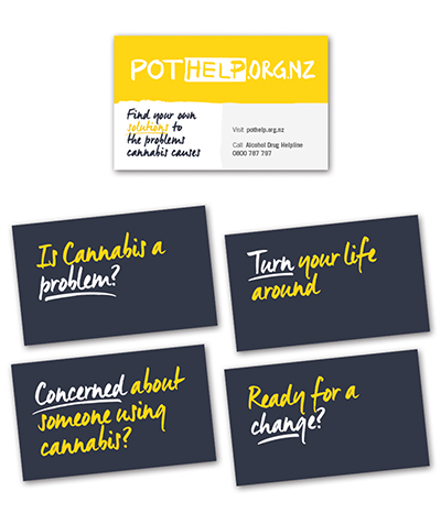 PotHelp wallet cards